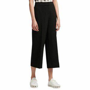 DKNY NEW Women's Solid Wide-leg Capris